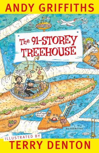 The 91-Storey Treehouse by Andy Griffiths image