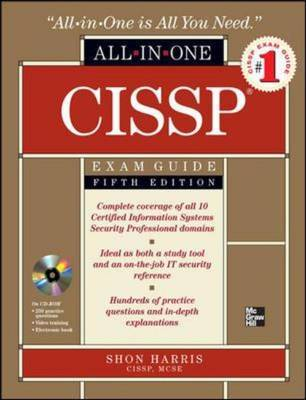 CISSP All-in-one Exam Guide by Shon Harris image