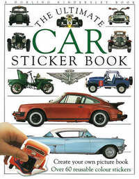 Car Ultimate Sticker Book by Varios