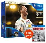 PS4 Slim 1TB FIFA 18 Ronaldo Edition Bundle for PS4
