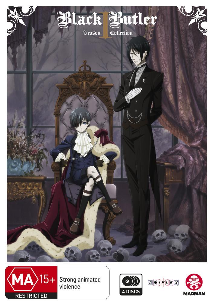 Black Butler Complete Season 1 on DVD image