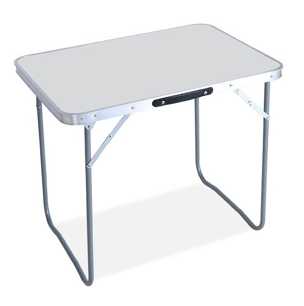 Outdoor Camping - Compact Folding Table (White)