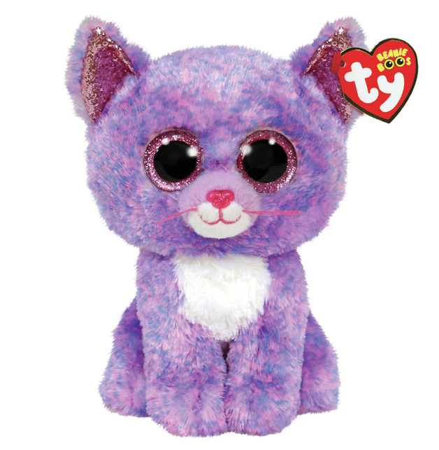 TY: Beanie Boo - Lavender Cat
