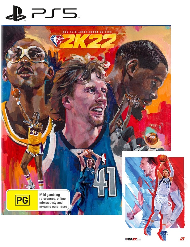 NBA 2K22 75th Anniversary Edition for PS5
