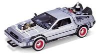 Back To The Future 3 - DeLorean 1:24 Scale Die-Cast Car Replica
