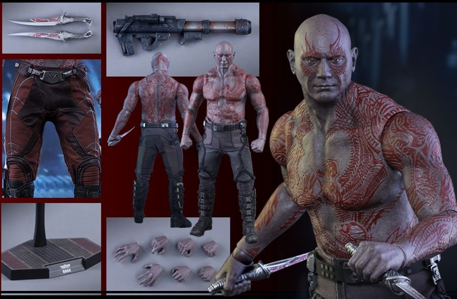 "Guardians Of The Galaxy - Drax 13"" Figure image"