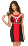 Deadpool Tank Dress (Medium)