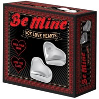 Be Mine Ice Love Hearts (Stainless Steel)