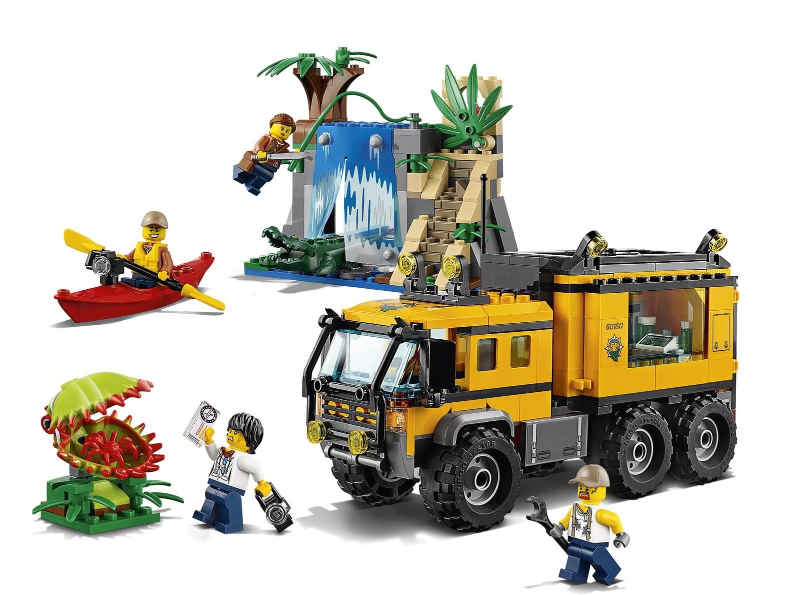 LEGO City: Jungle Mobile Lab (60160) image