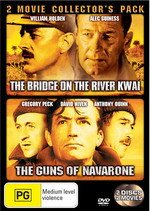 The Bridge On The River Kwai / The Guns Of Navarone - 2 Movie Collector's Pack (2 Disc Set) on DVD
