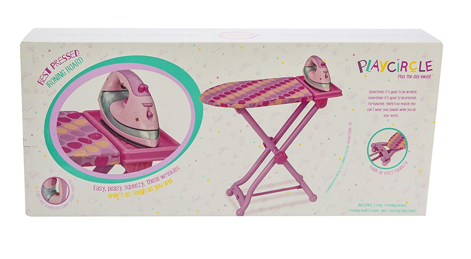Play Circle: Iron & Ironing Board - Roleplay Set image