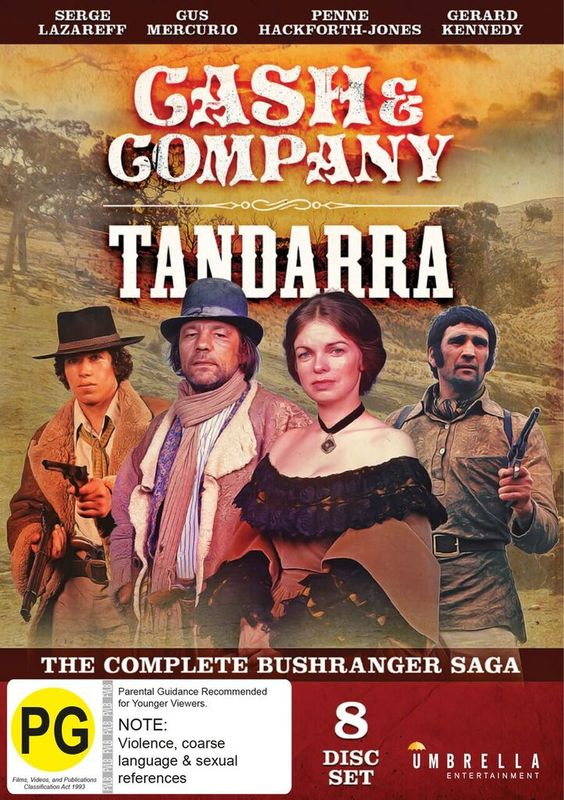 Cash & Company/Tandarra (The Complete Bushranger Saga) on DVD