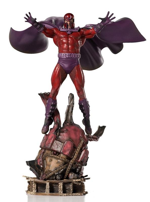 X-Men: Magneto (Deluxe) - Battle Diorama Statue