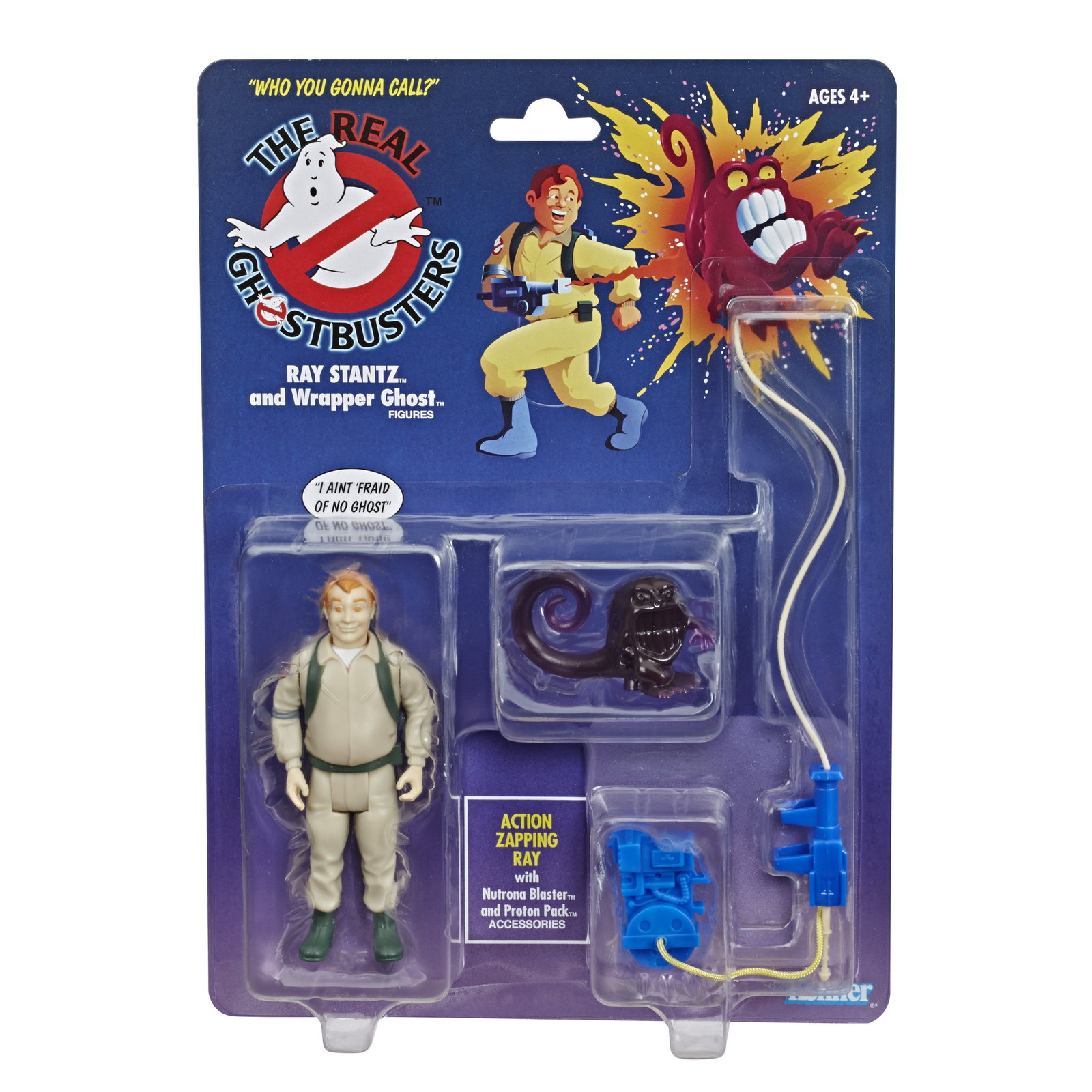 Ghostbusters: Kenner Classics - Ray Stantz and Wrapper Ghost image