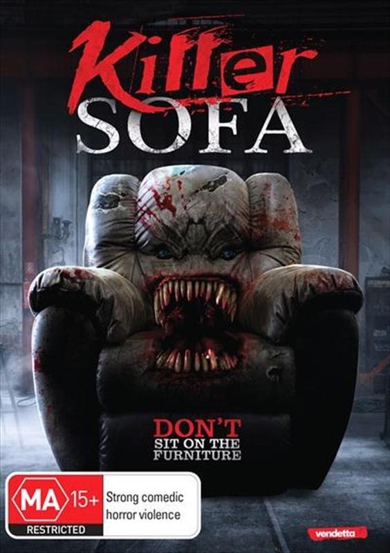 Killer Sofa on DVD