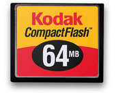 Kodak 64MB CF Picture Card with Case