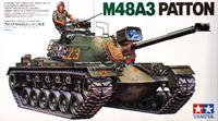 Tamiya U.S. M48A3 Patton Tank 1/35 Model Kit