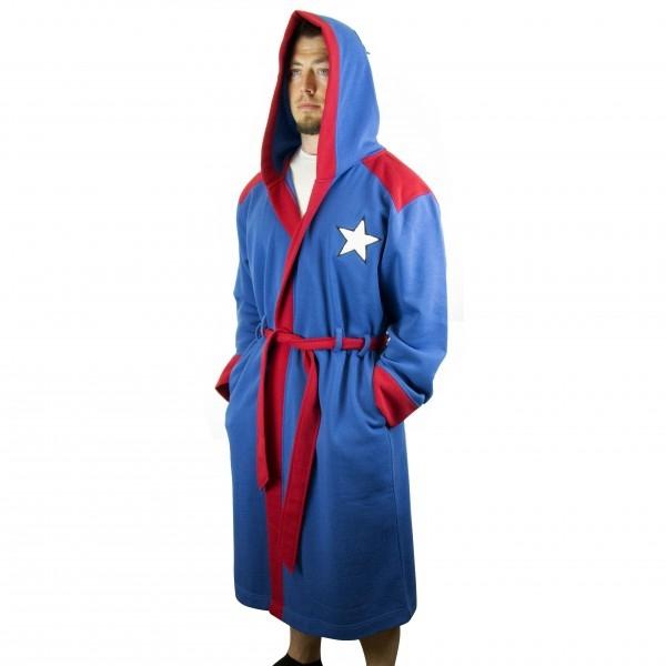 bc2f17ea24 Captain America Bathrobe