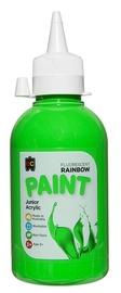 EC Colours - 250ml Rainbow Acrylic Paint - Fluoro Green