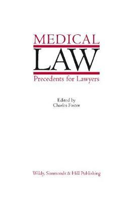 Medical Law Precedents for Lawyers image