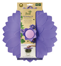 Zeal: Purple Flower Lid - (28cm)