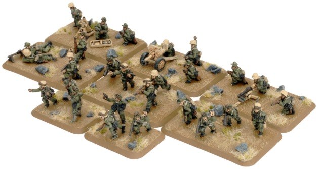 Flames of War: Afrika Korps - Rifle Platoon (25pc)
