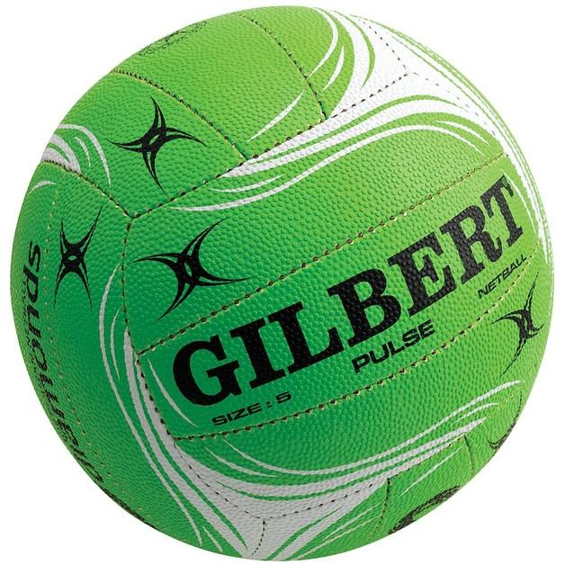 Gilbert Pulse Netball-Green (Size 5)