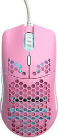 Glorious PC Gaming Model O Regular Gaming Mouse (Matte Pink) for PC