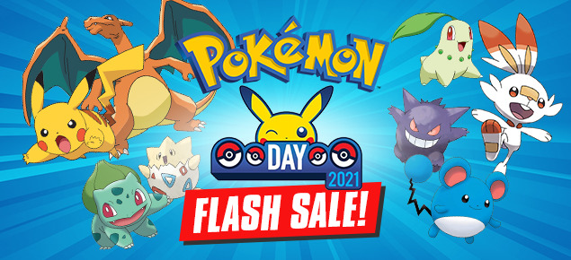 Pokemon Day Sale
