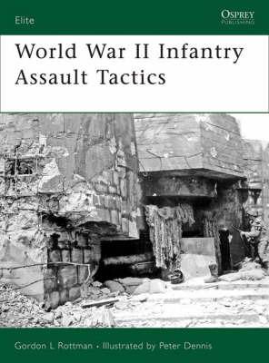World War II Fortification Assault Tactics by Gordon Rottman image