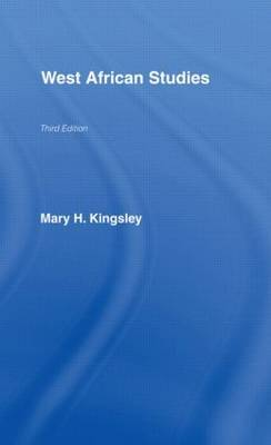 West African Studies by Mary Kingsley image