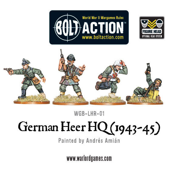 German Army - Heer HQ Set image