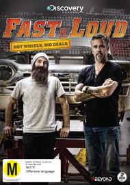 Fast N Loud: Hot Wheels Big Deals on DVD