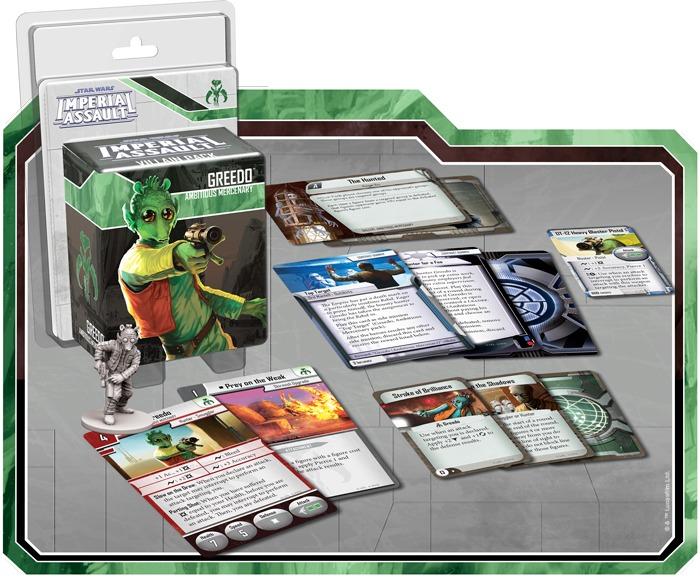 Star Wars: Imperial Assault: Greedo - Villain Pack image
