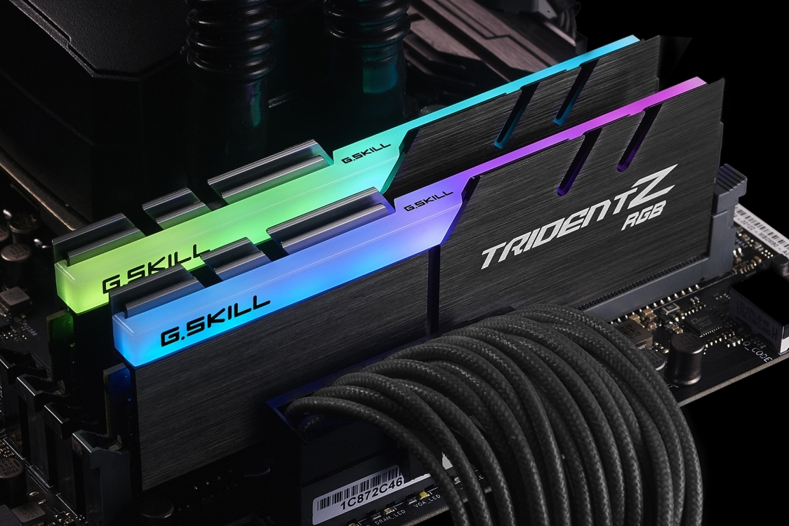 2 x 8GB G.SKILL Trident Z RGB 4000Mhz DDR4 Ram - For Intel Z270 Platform ONLY image