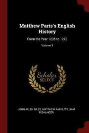 Matthew Paris's English History by John Allen Giles image