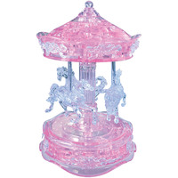 Crystal Puzzle - Pink Carousel