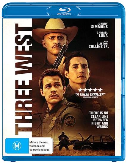 Three West on Blu-ray