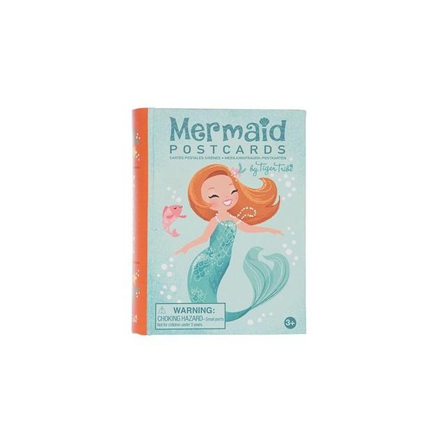 Tiger Tribe: Mermaid Postcards