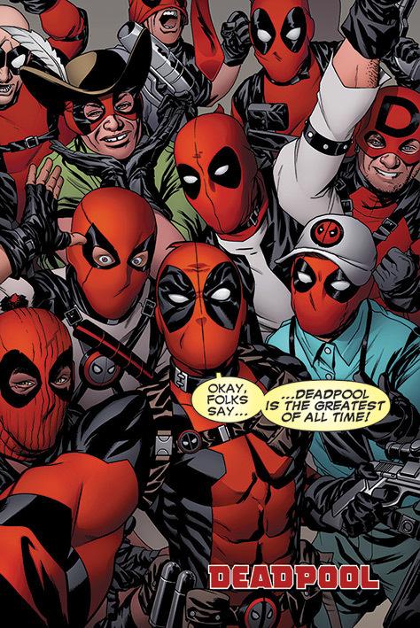 Deadpool Maxi Poster - Selfie (731)