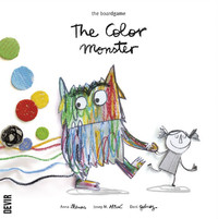 The Color Monster - Board Game