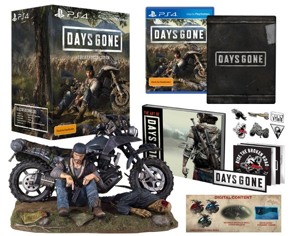 Days Gone Collector's Edition for PS4