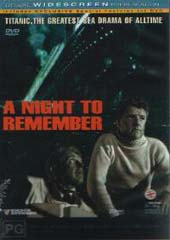A Night To Remember on DVD