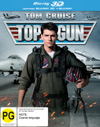 Top Gun on Blu-ray, 3D Blu-ray