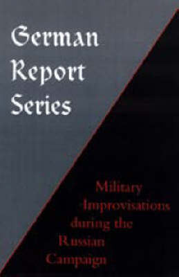 German Report Series by Naval & Military Press