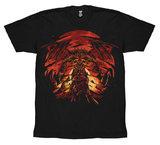 Dark Souls 3 Dragon T-Shirt (XX-Large)