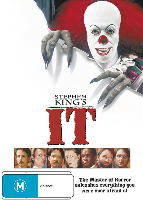 Stephen Kings's IT on DVD image