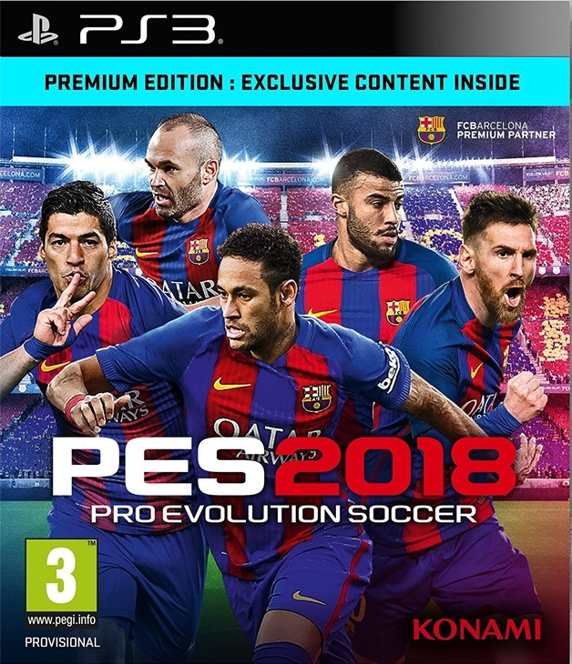 Pro Evolution Soccer 2018 Premium Edition for PS3
