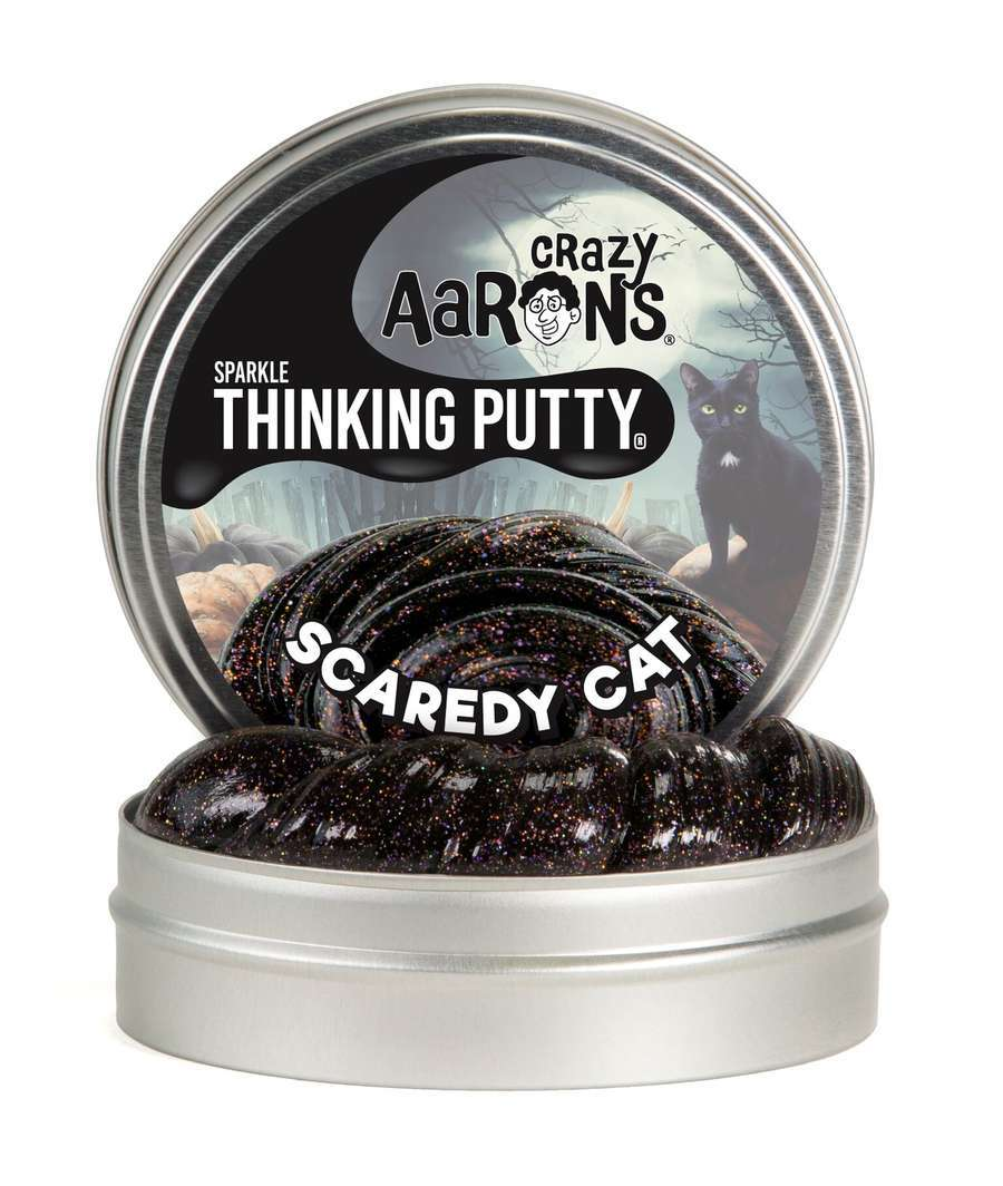 Crazy Aaron's Thinking Putty: Halloween Putty - Scaredy Cat image