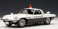 AUTOart Mazda Cosmo Sport Japanese Police Car 1/18 Diecast Model